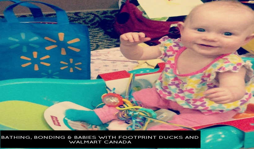 Bathing, Bonding and Babies with Footprint Ducks and Walmart Canada