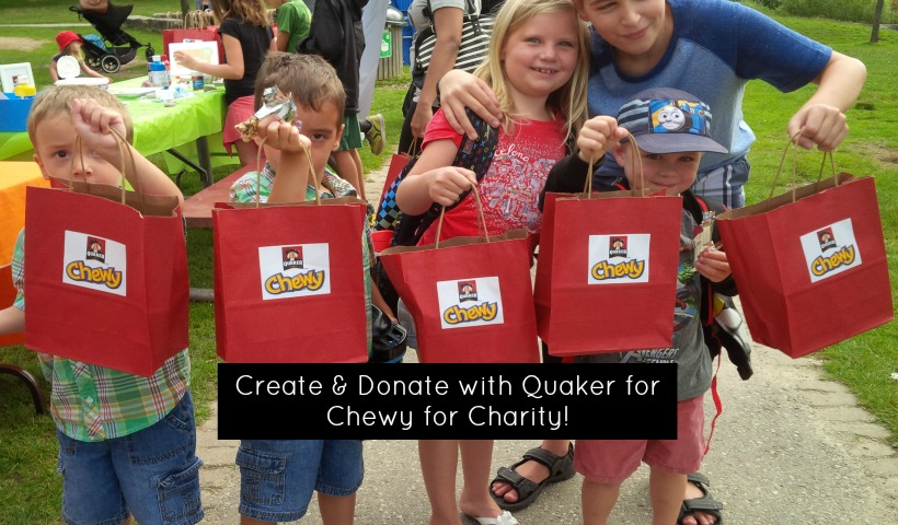 Create and Donate with Quaker for Chewy for Charity!
