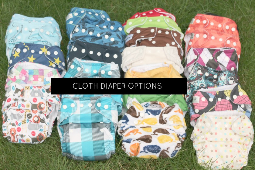 Cloth diaper options
