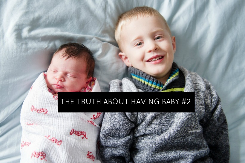 The truth about having baby number 2